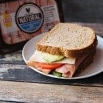 Applewood Smoked Turkey and Ham Sandwich