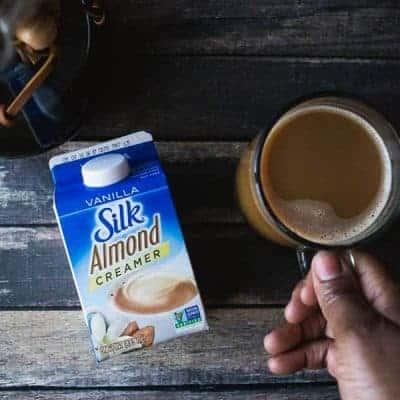 Dairy Free Caramel Brulee Latte