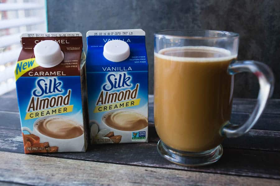 Silk Almond creamers are perfect for those of us who are dairy free