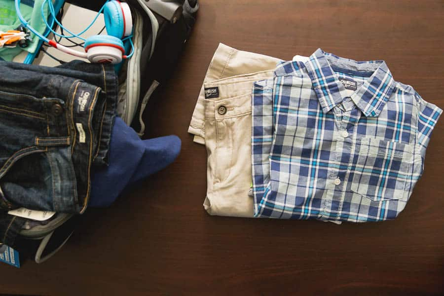 spring break packing tips with oshkosh