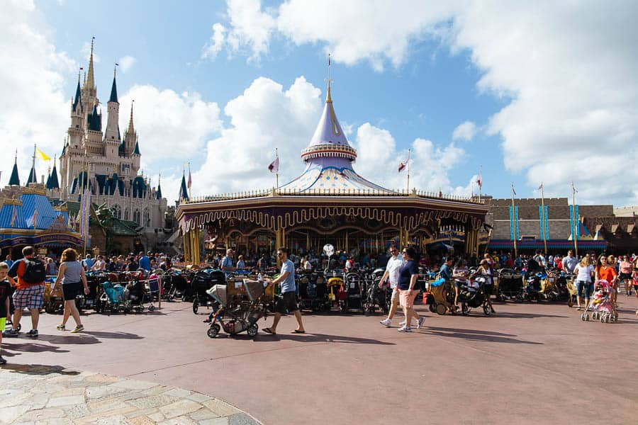 magic kingdom carousel