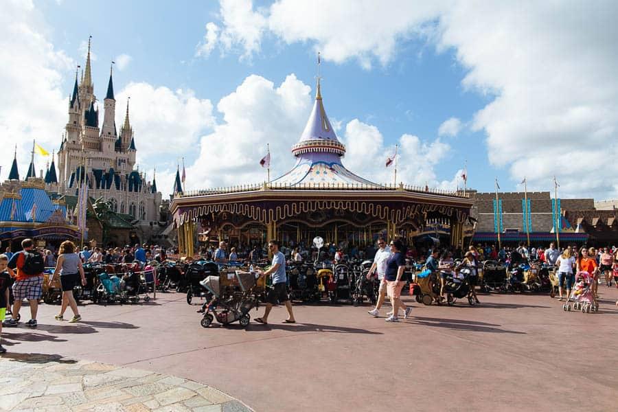 magic kingdom carousel