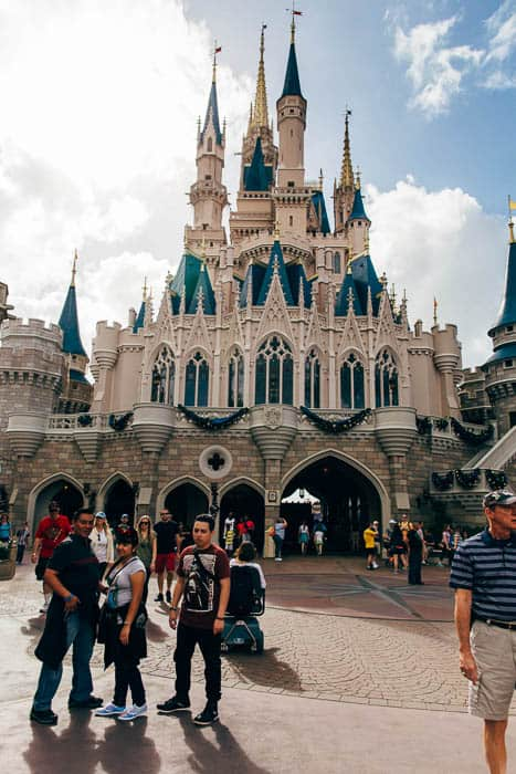 cinderella's castle magic kingdom