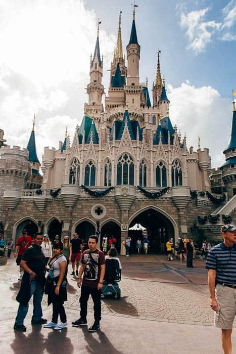 cinderella's castle magic kingdom