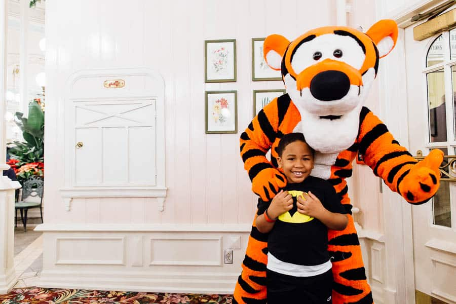 tiger at the crystal palace