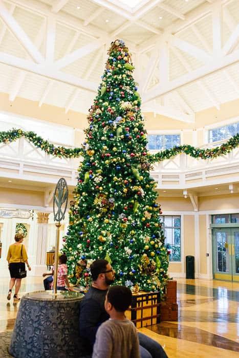 Disney at Christmas time
