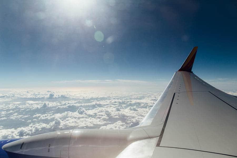 flying to disney on pookahs' birthday