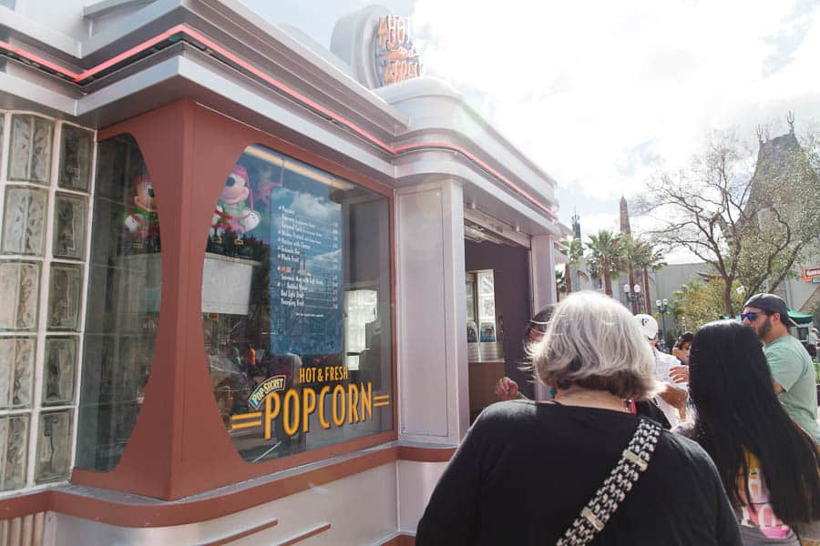 popcorn at disneyworld is gluten free