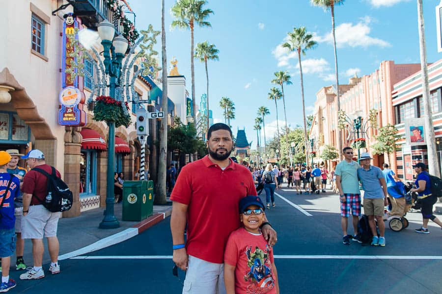 we are here at Disneyworld's Hollywood Studios