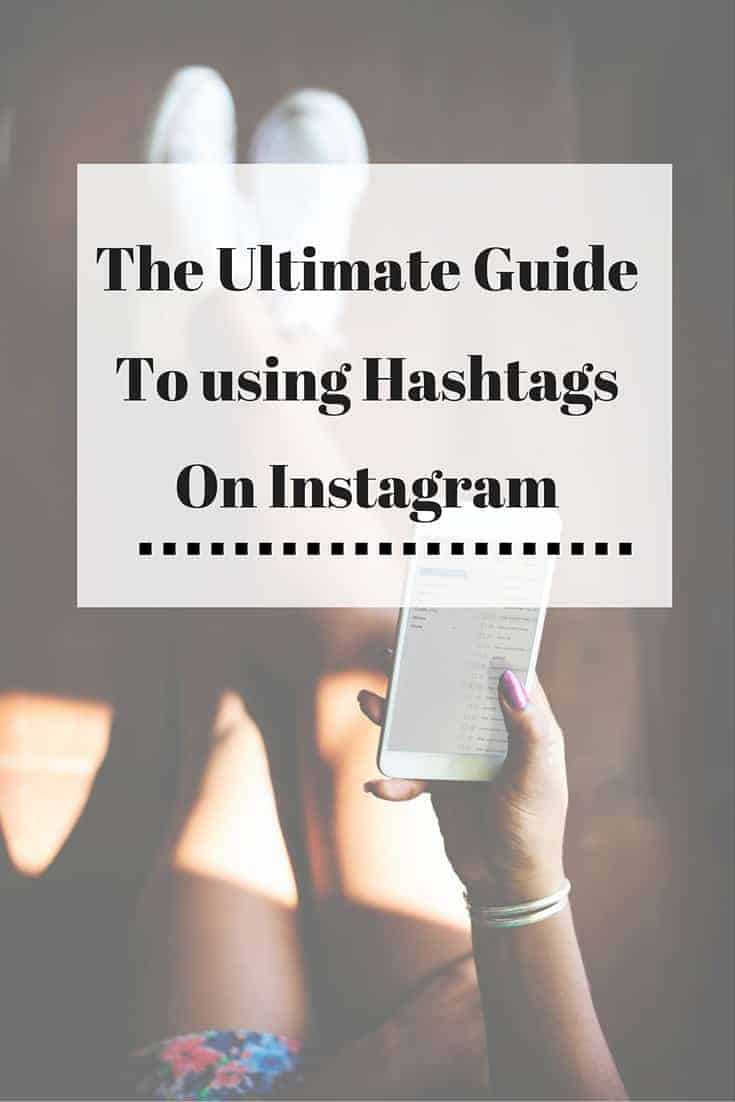 Here is the ULTIMATE guide to using hashtags on Instagram. Download a FREE PDF of every hashtag you will ever need!
