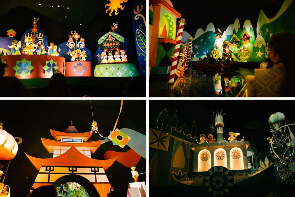 Disney's its a small world ride.