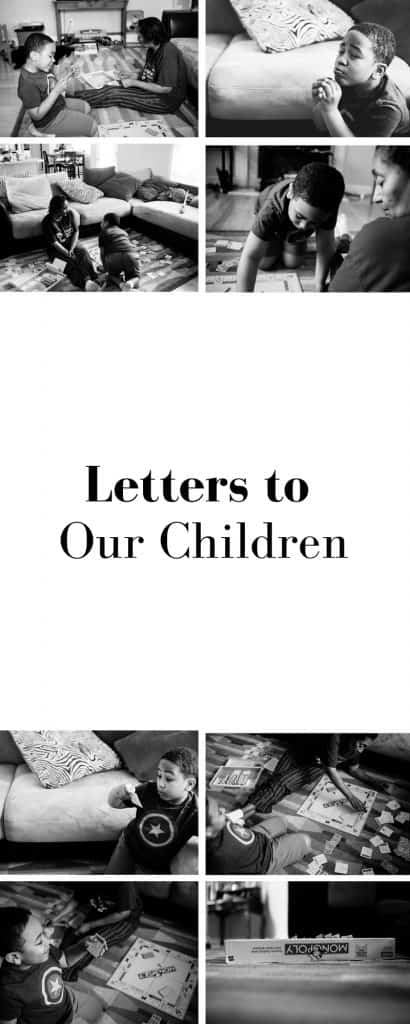 This month's letters to our children's post focuses on grandmothers and a game of monopoly