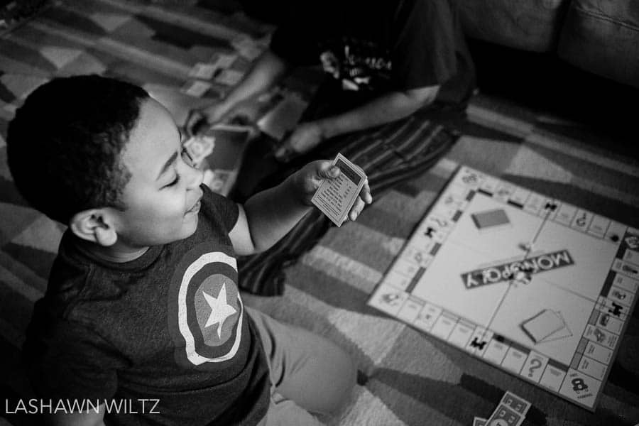 This month's letters to our children's post focuses on a game of monopoly
