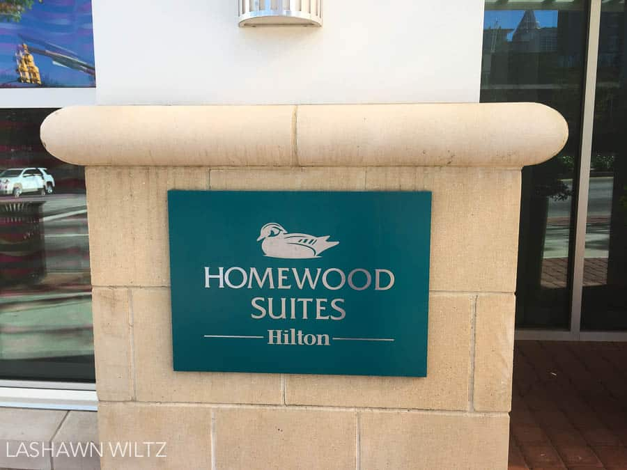 ave you ever had a staycation? Our staycation in Atlanta at Homewood Suites by Hilton was just what the two of us needed.