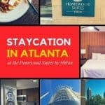 Staycation in Atlanta. Or the Night We Got Away