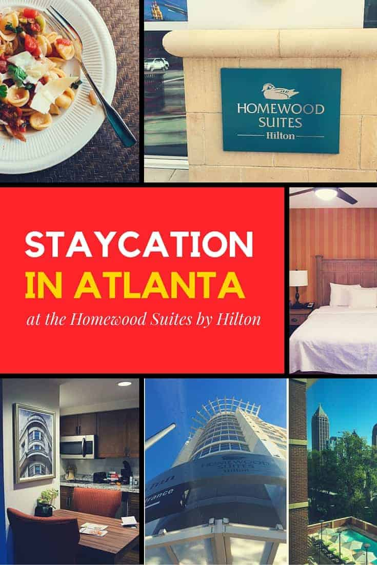 Have you ever had a staycation? Our staycation at Homewood Suites by Hilton was just what the two of us needed.
