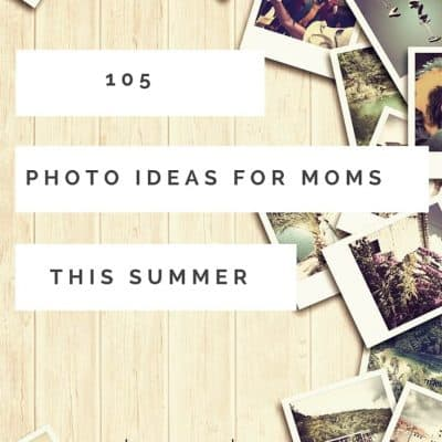 105 Summer Photography Prompts
