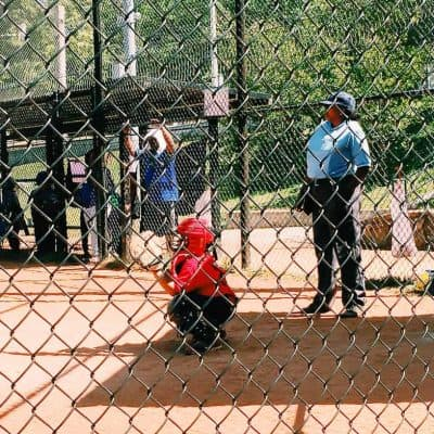 My son has played almost every position on his baseball team this year. But I think that being the catcher might be his favorite.