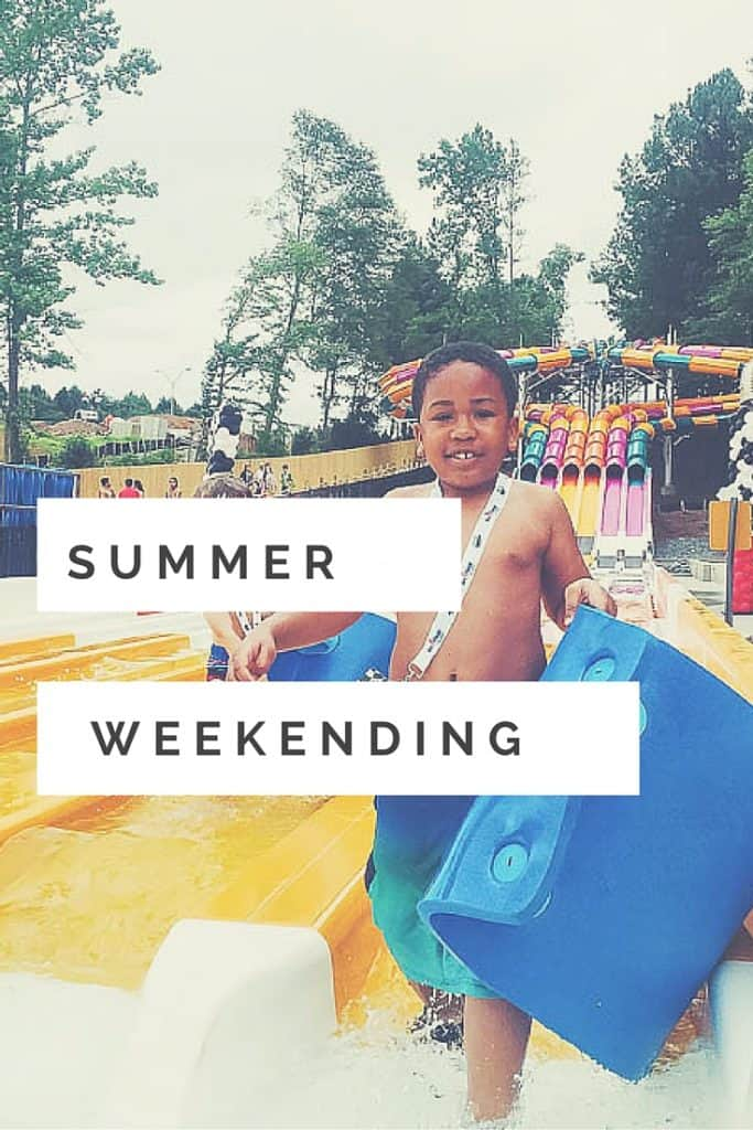 Summer weekending week 2 was white water and father's day