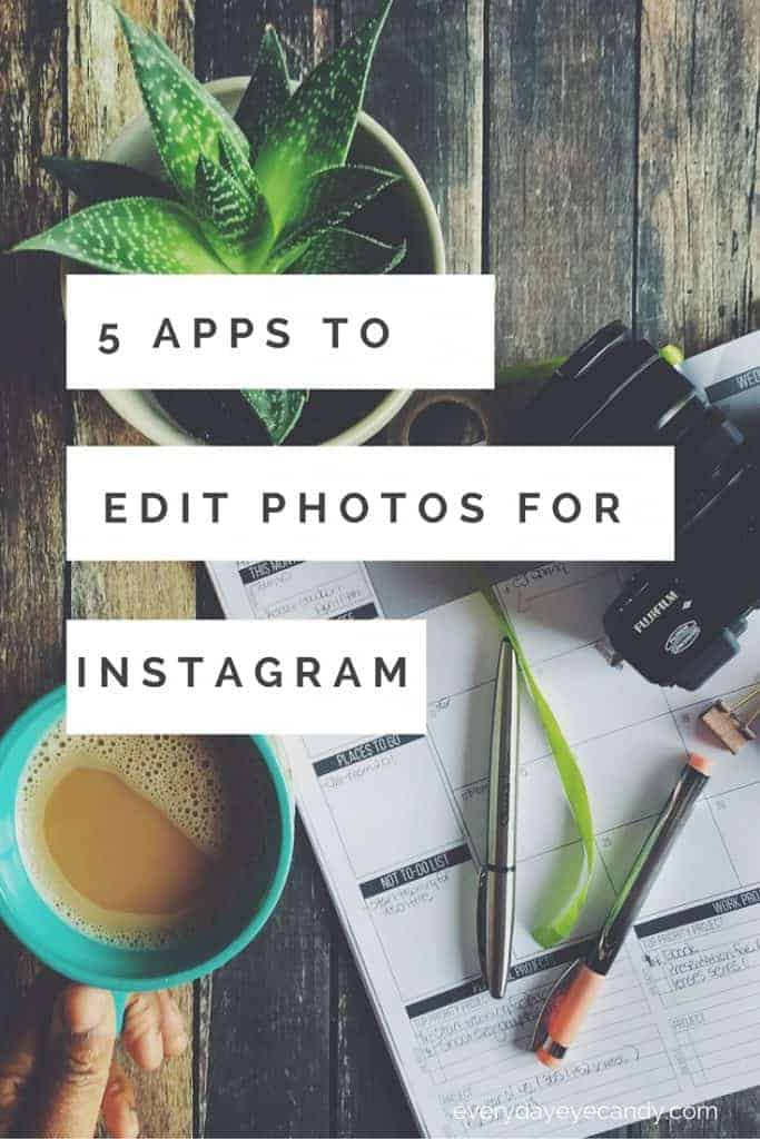 The top 5 apps to edit photos for Instagram on Android and iPhone!
