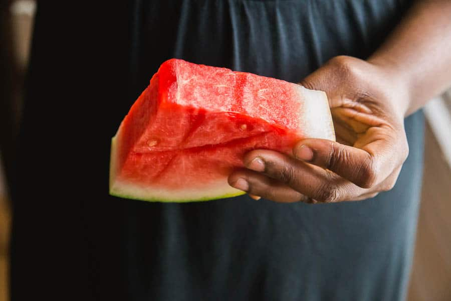 i love watermelon in the summer!
