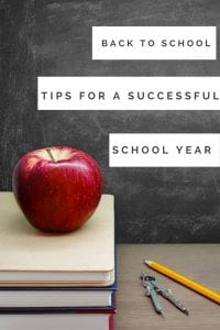 It is time to get organized and get ready for back to school. Check out these tips to have a successful school year.