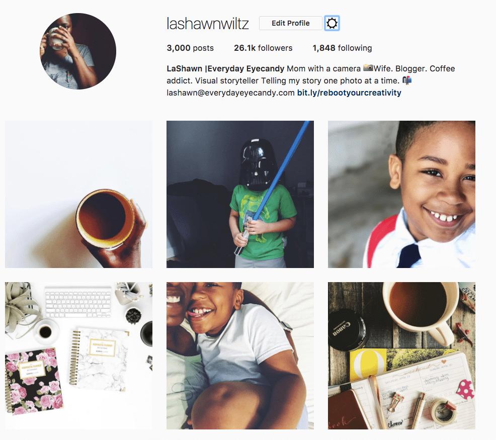 LaShawn Wiltz Instagram