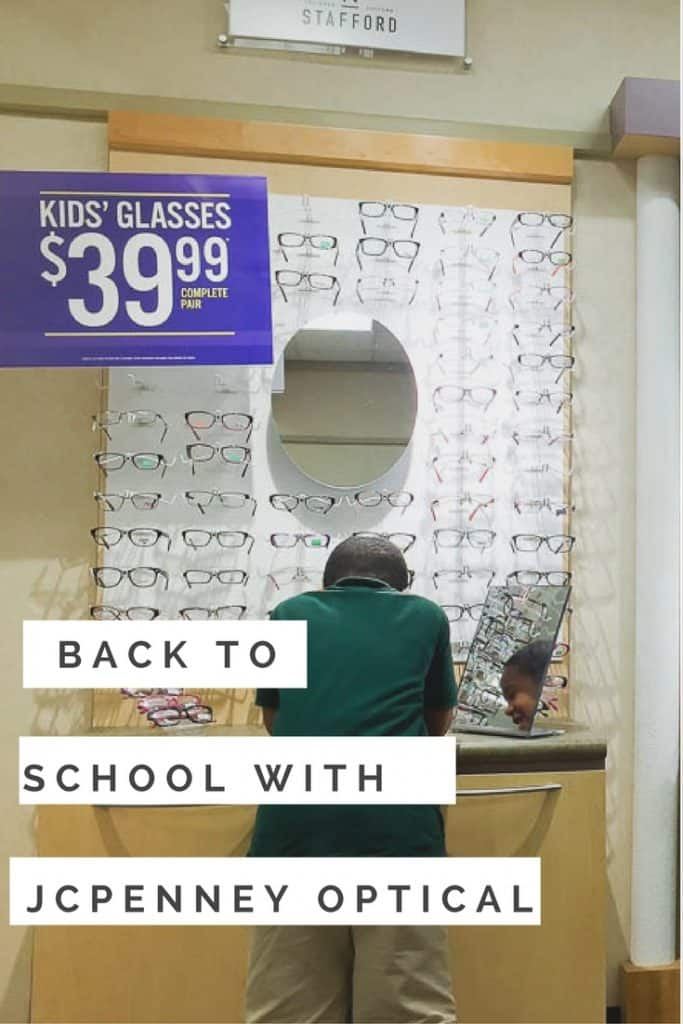 Pookah went Back to School shopping with @JCPenneyOptical! #JCPOptical #ad