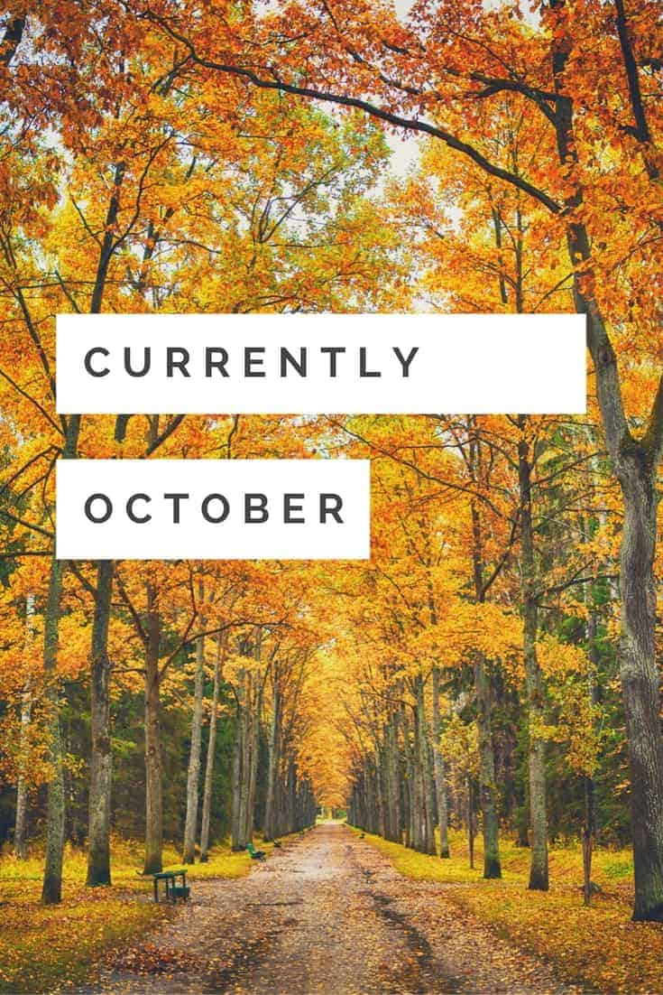 Currently October 2016