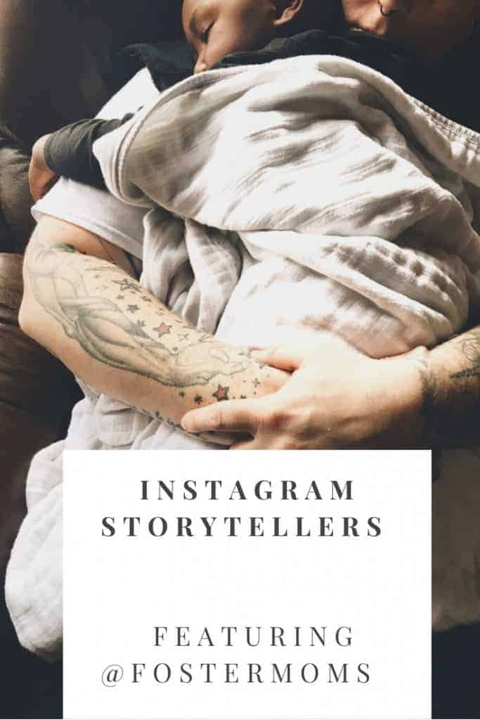 Check out this Instagram Storytellers series with @Fostermoms where they talk about what inspires them and the story they are trying to tell about their life through a collection of photos and words on Instagram.