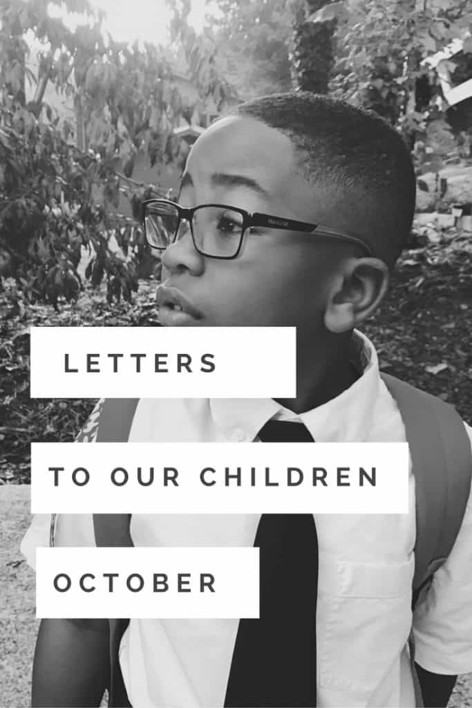 Each month, I write a letter to my son. It's a photography project and letter all in one. Link up in the post.