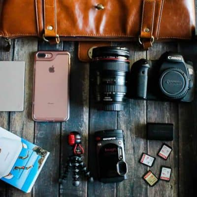 What's in My Camera Bag for Beaches Moms