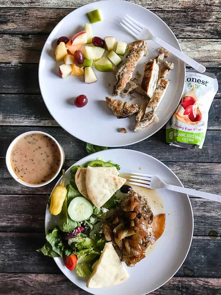Zoe's Kichen provides healthy good food FAST!