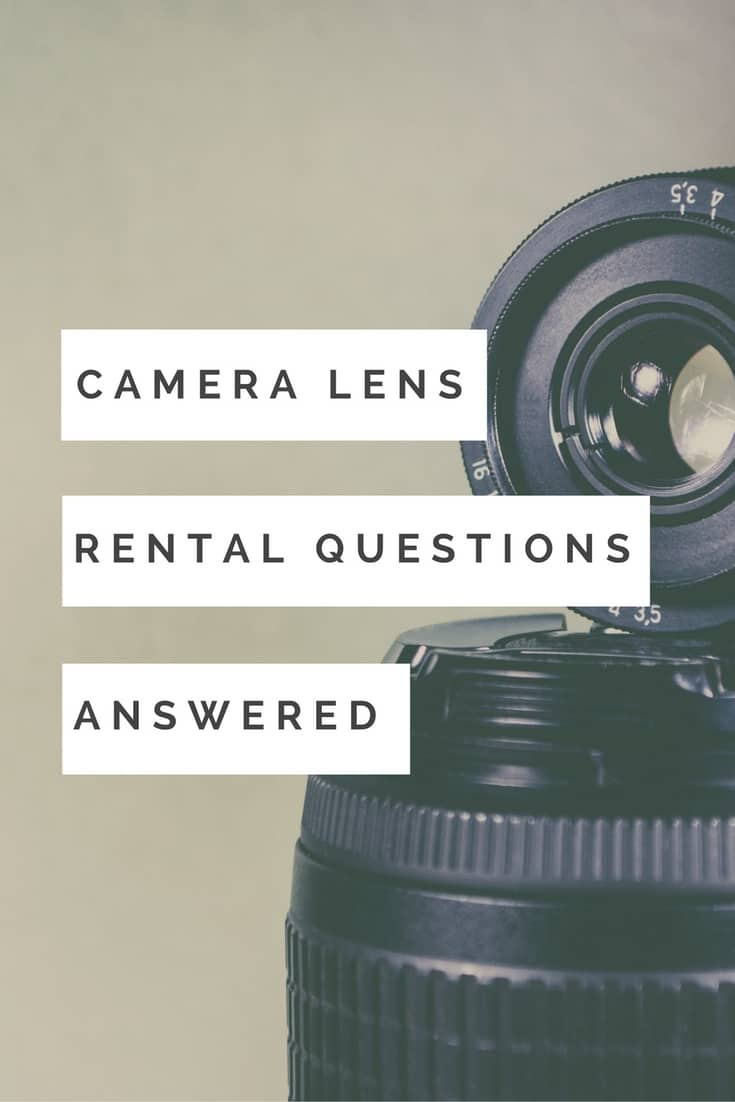 Do you have questions about camera lens rental? I answer the how the why and the where on camera lens rental.