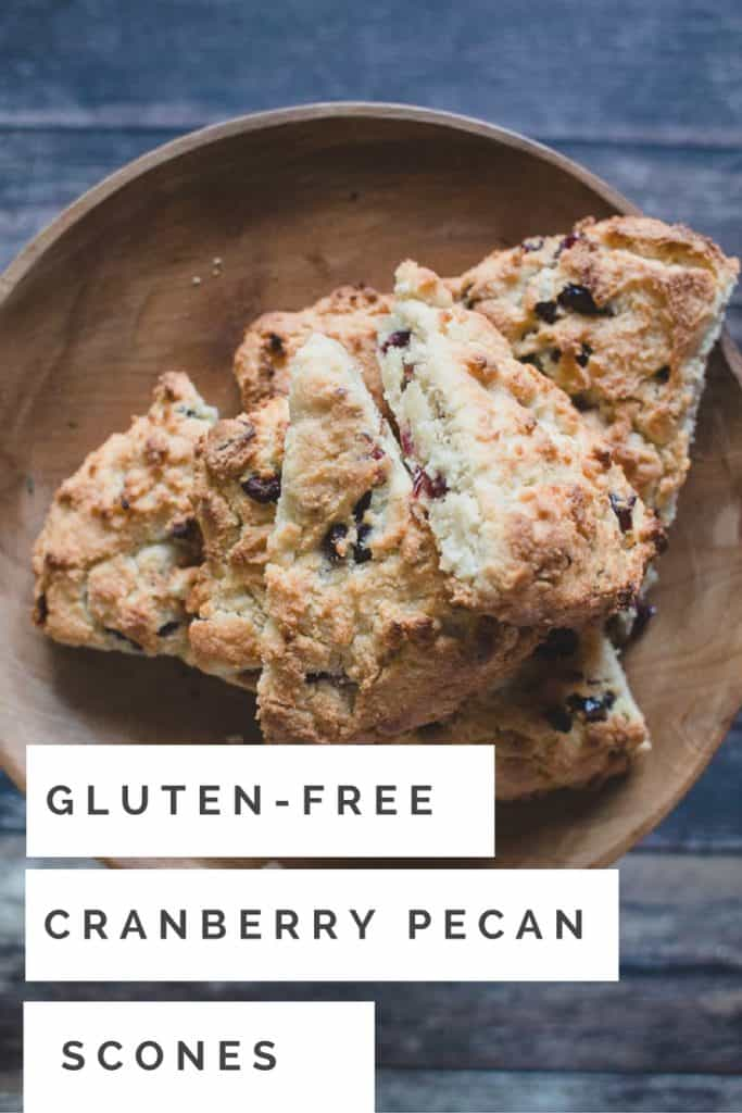 Addictive! My go to recipe for gluten free scones with cranberries and pecans. perfect for the holiday season or just a snack with your coffee!