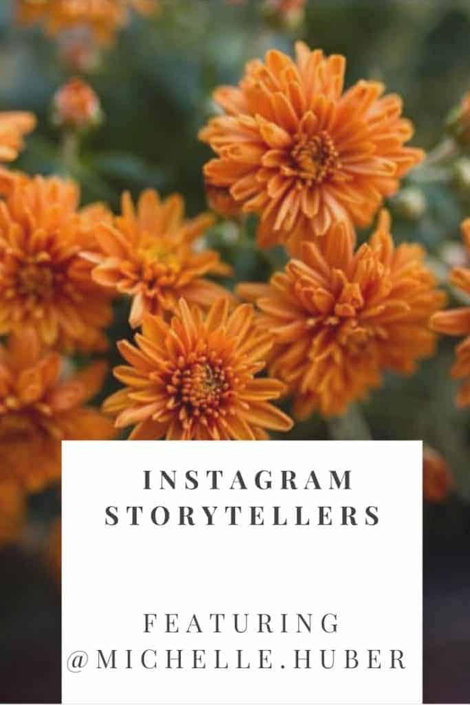 Check out this Instagram Storytellers series with @Michelle.Huber where she talks about what inspires her