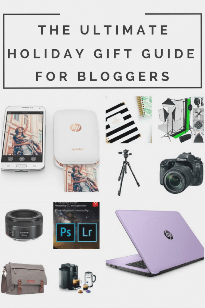 Are you looking for a gift for the blogger in your life? Check out this holiday gift guide for bloggers.