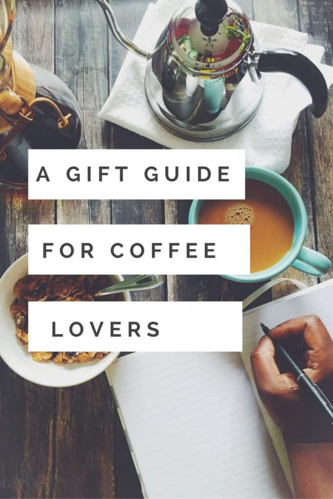 Coffee junkies unite! Not sure of what to get the coffee lover in your life? Check out this gift guide for coffee lovers in your life. You will find something they would love for Christmas on this list!