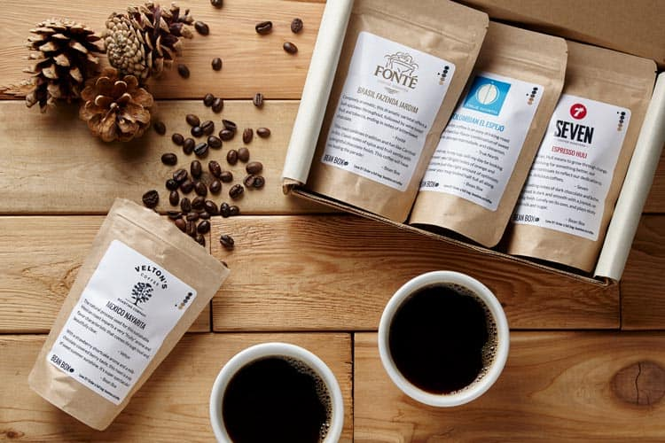 Bean box is a great subscription service for coffee lovers.