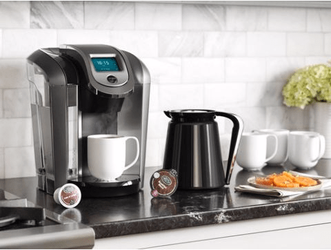 The keurig 575 is a great gift for the coffee lover in your life.