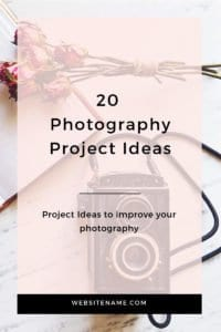 20 photography project ideas