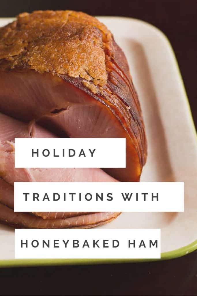 One of my family's favorite holiday traditions is to have a big Christmas dinner. The tradition will continue this year with the help of HoneyBaked Ham. @honeybaked #HoneyBakedMoments #ad