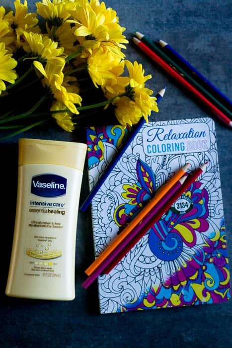 Happy to be a Vaseline Partner sharing how Vaseline Essential Healing Lotion leaves my family's skin deeply moisturized. Check out 5 ways to practice self care this winter. @vaselineus #AD