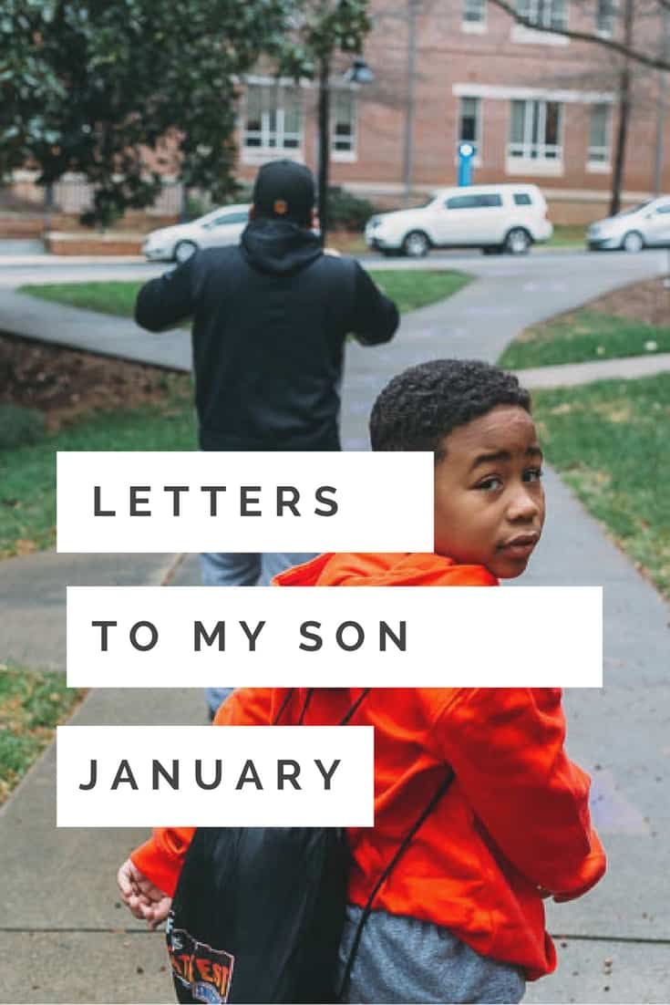 The first letter of the year in my Letters To My Son Photography project. Every month, i take photos and write a letter to my son.