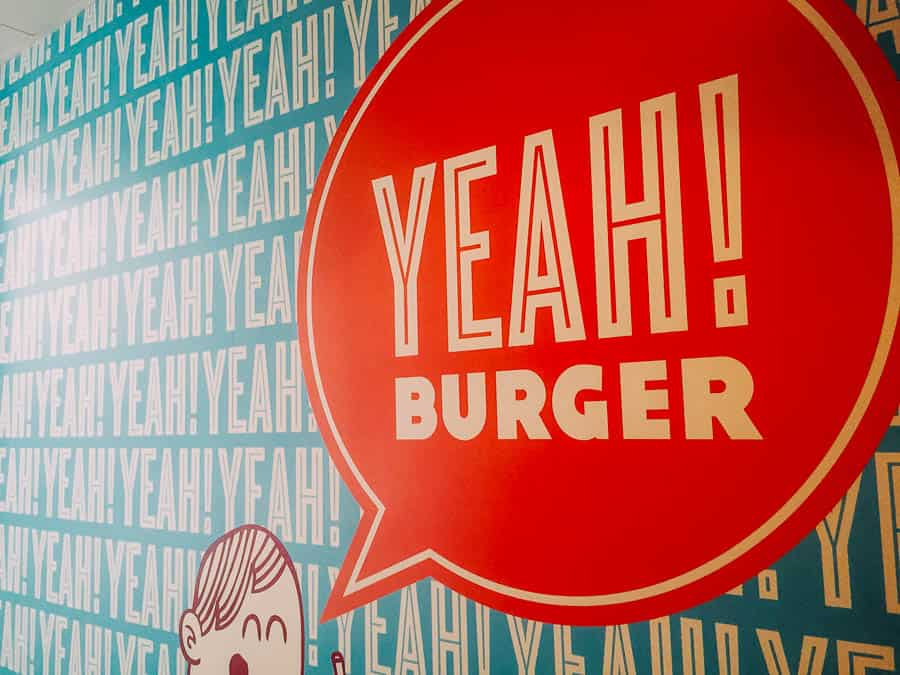 gluten free in Atlanta Yeah Burger in Virginia Highlands