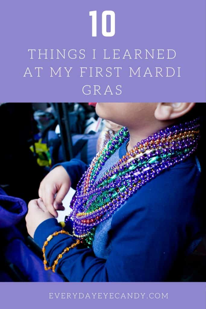 We went to our first ever Mardi Gras and had so much fun. Check out my photos from Mardi Gras and 10 things that I learned at my first Mardi Gras