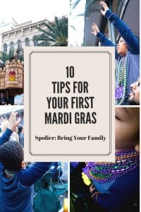 10 tips for your first Mardi Gras.