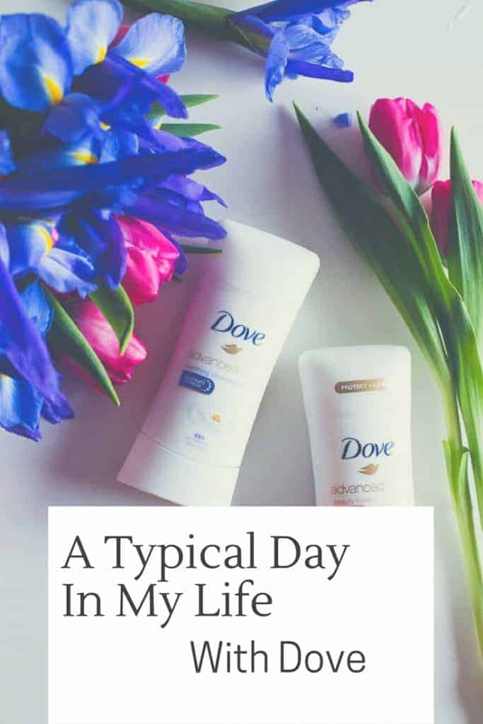 Check out how Dove Advanced Care Antiperspiratn helps get me through my typical busy day still fresh and dry by the time I get to bed! ExpectMore AD @Dove