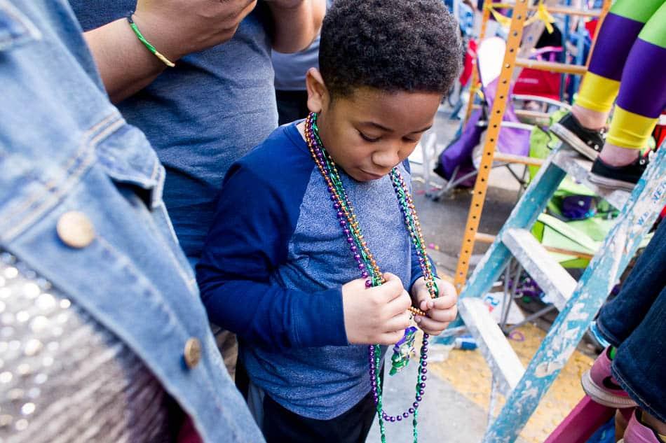 Layer at mardi gras