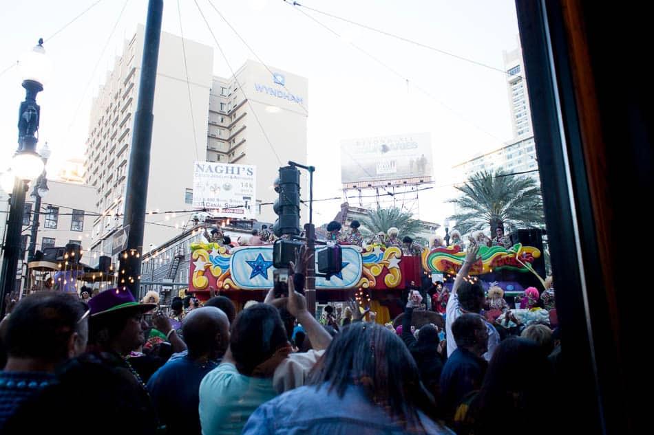 photo of mardi gras parade